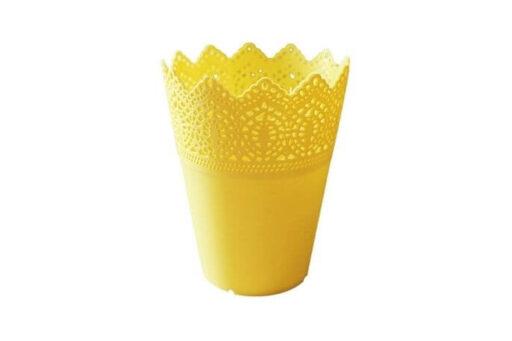 Macetero amarillos