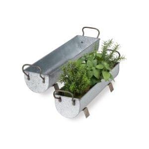 comprar jardineras de zinc