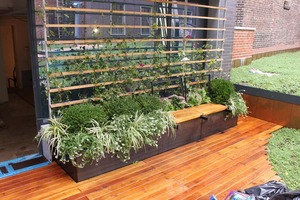 jardineras acero corten precio