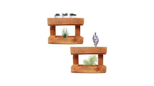 jardineras colgantes de madera precio