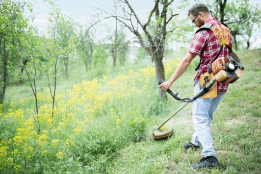 Máquinas para cortar hierba alta