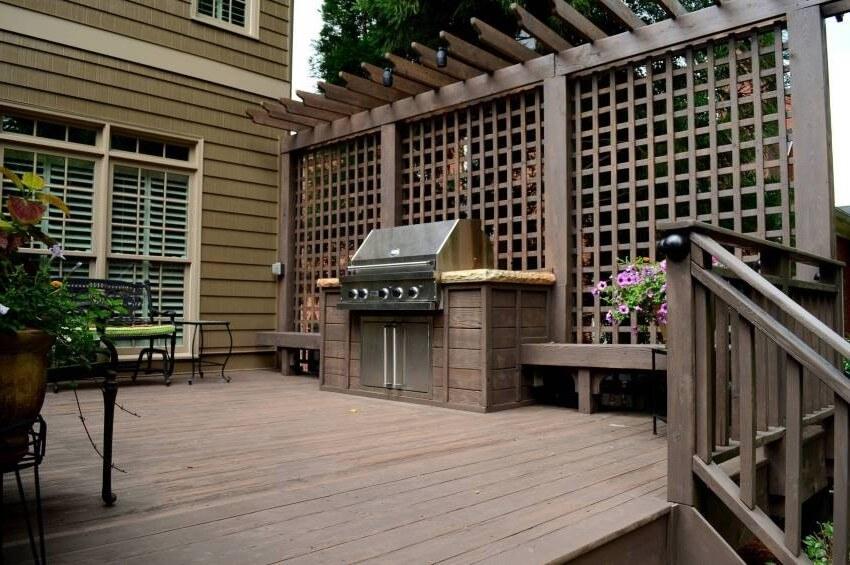 celosías para terrazas y jardín baratas