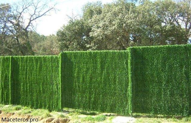 malla de ocultacion para jardín, vallas y terraza